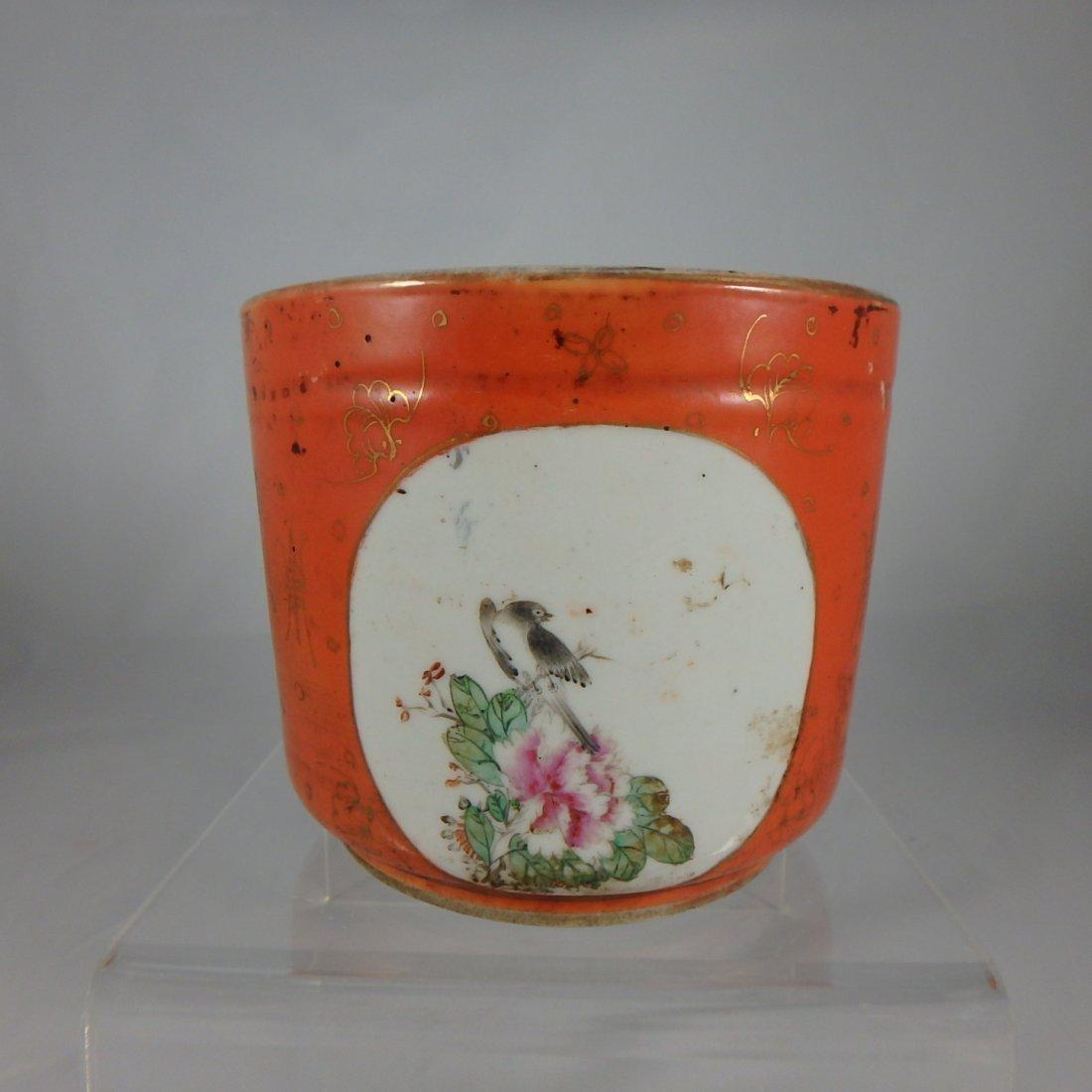 Chinese Qing Dynasty Porcelain Censer