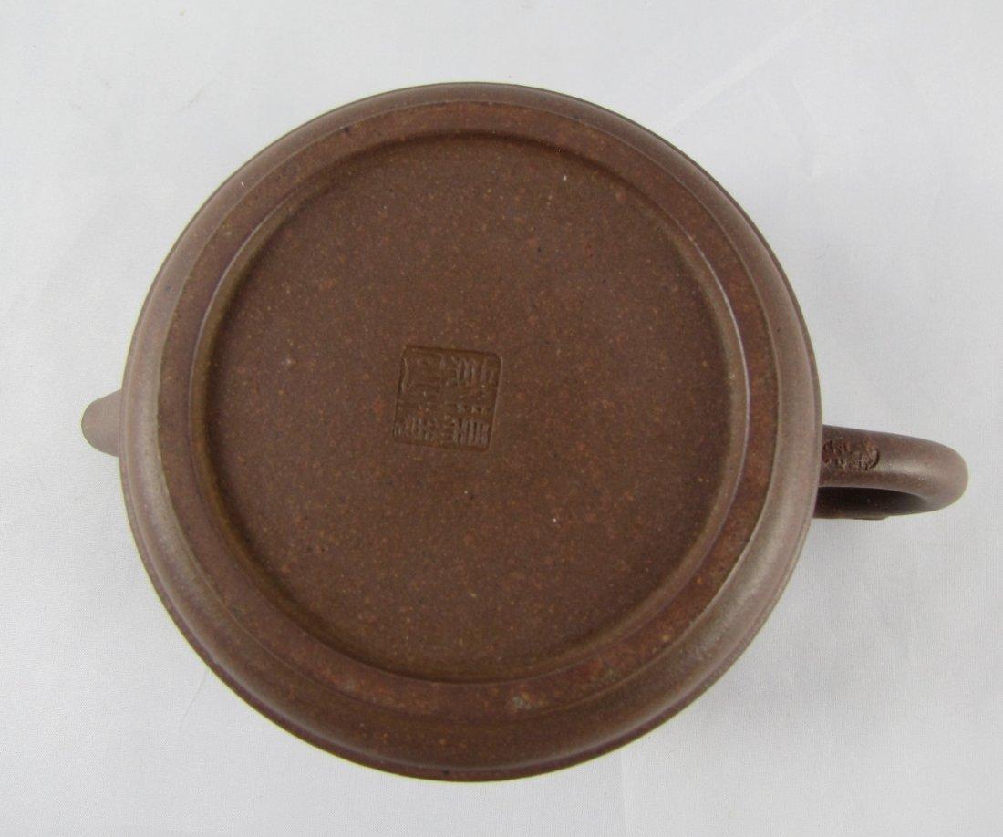 Chinese Yixing Zisha Teapot - 4