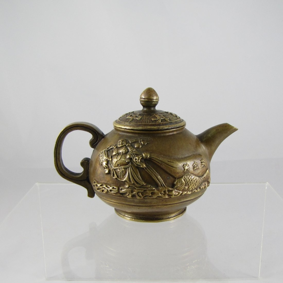 Chinese Copper Teapot
