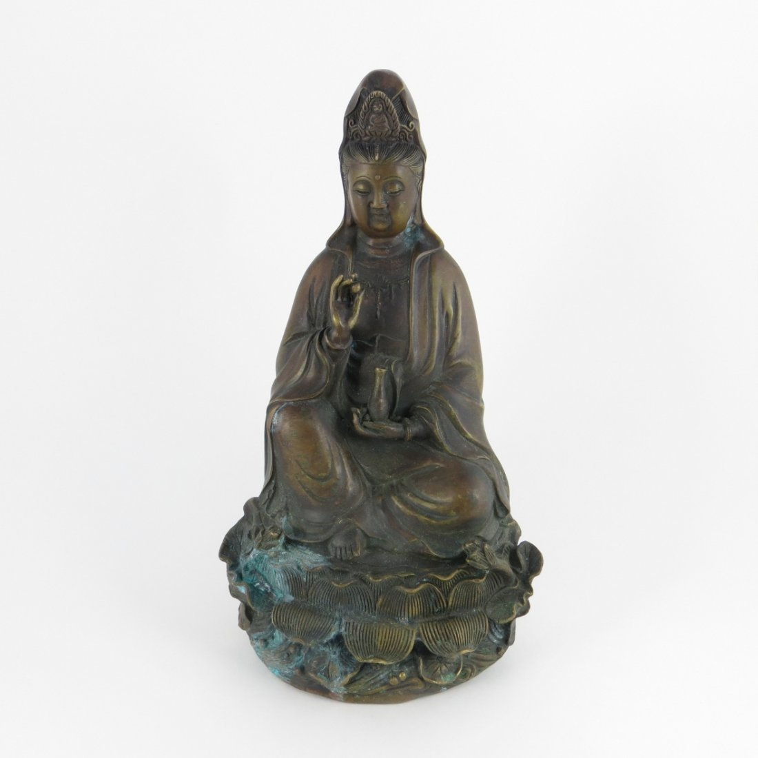 Chinese Ming Dynasty Bronze Guanyin