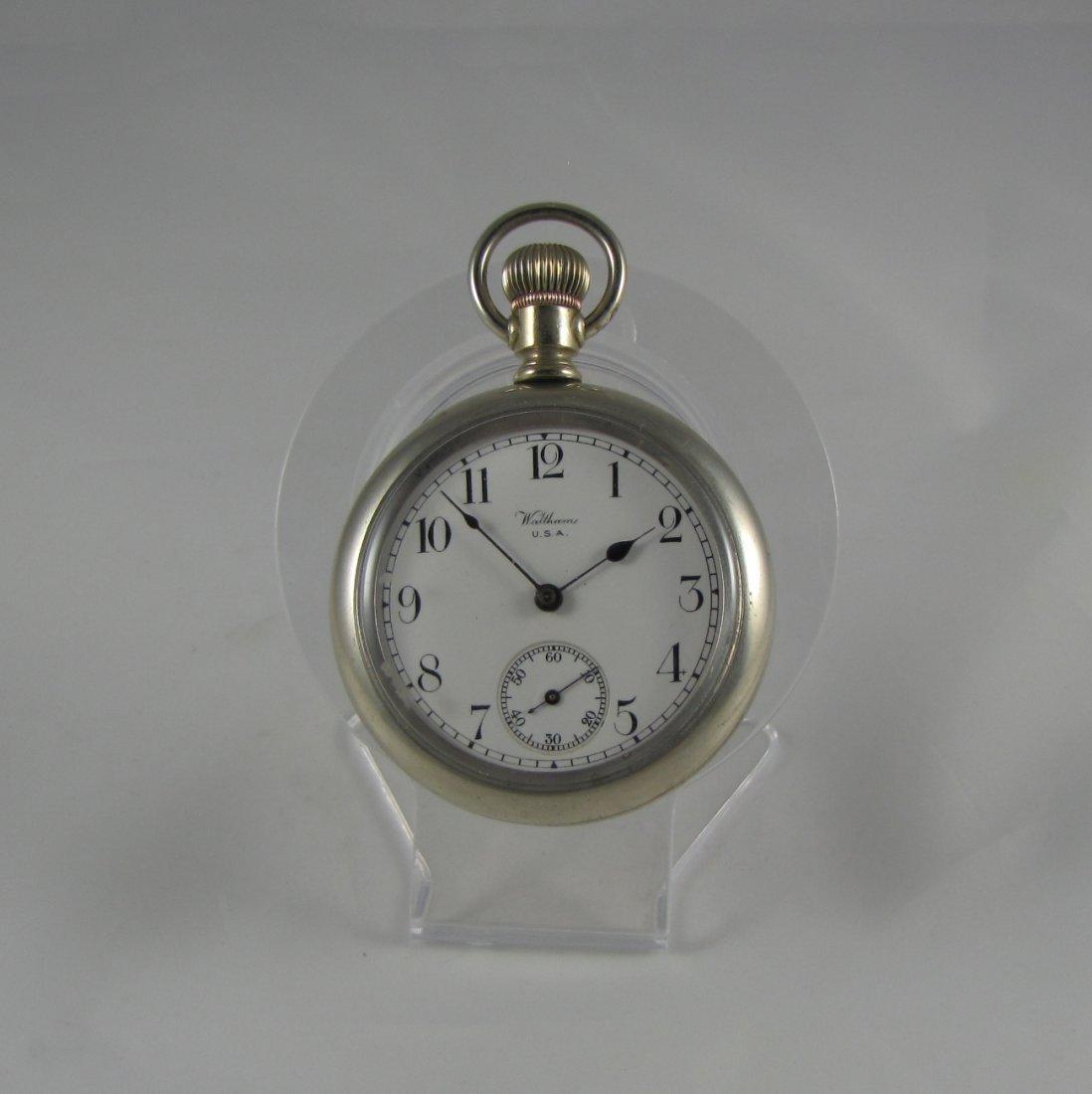Waltham Silver Pocket Watch
