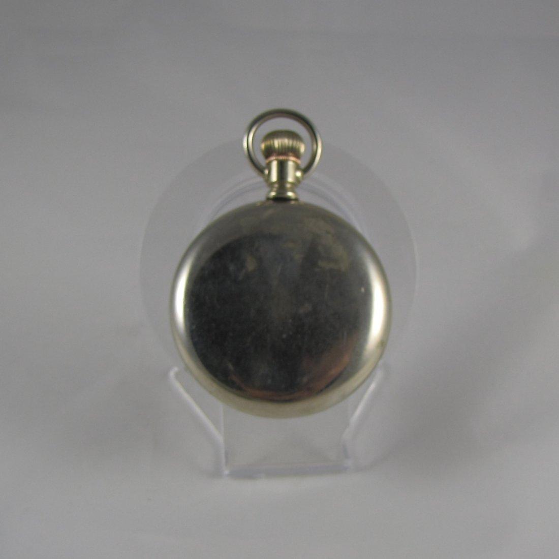 Waltham Silver Pocket Watch - 2