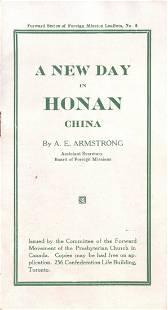 BOOK BY A. E. ARMSTRONG