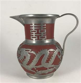 CHINESE YIXING ZISHA COFFEE POT