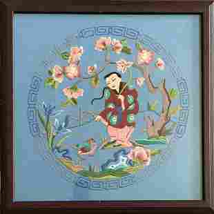 CHINESE SILK EMBROIDERY #1