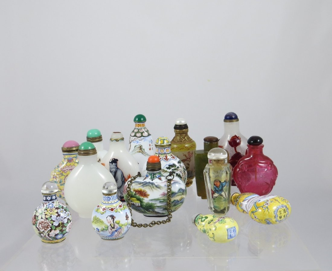 Snuffbottles-this is not a lot. Please DO NOT BID