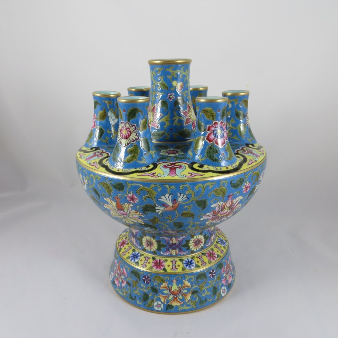 An Exceptional Chinese Famille Rose Vase