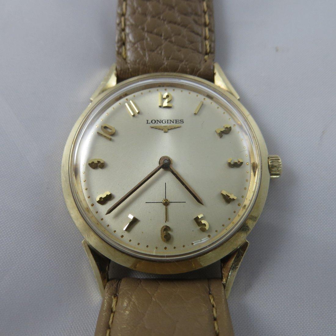 14K Yellow Gold Longines Watch