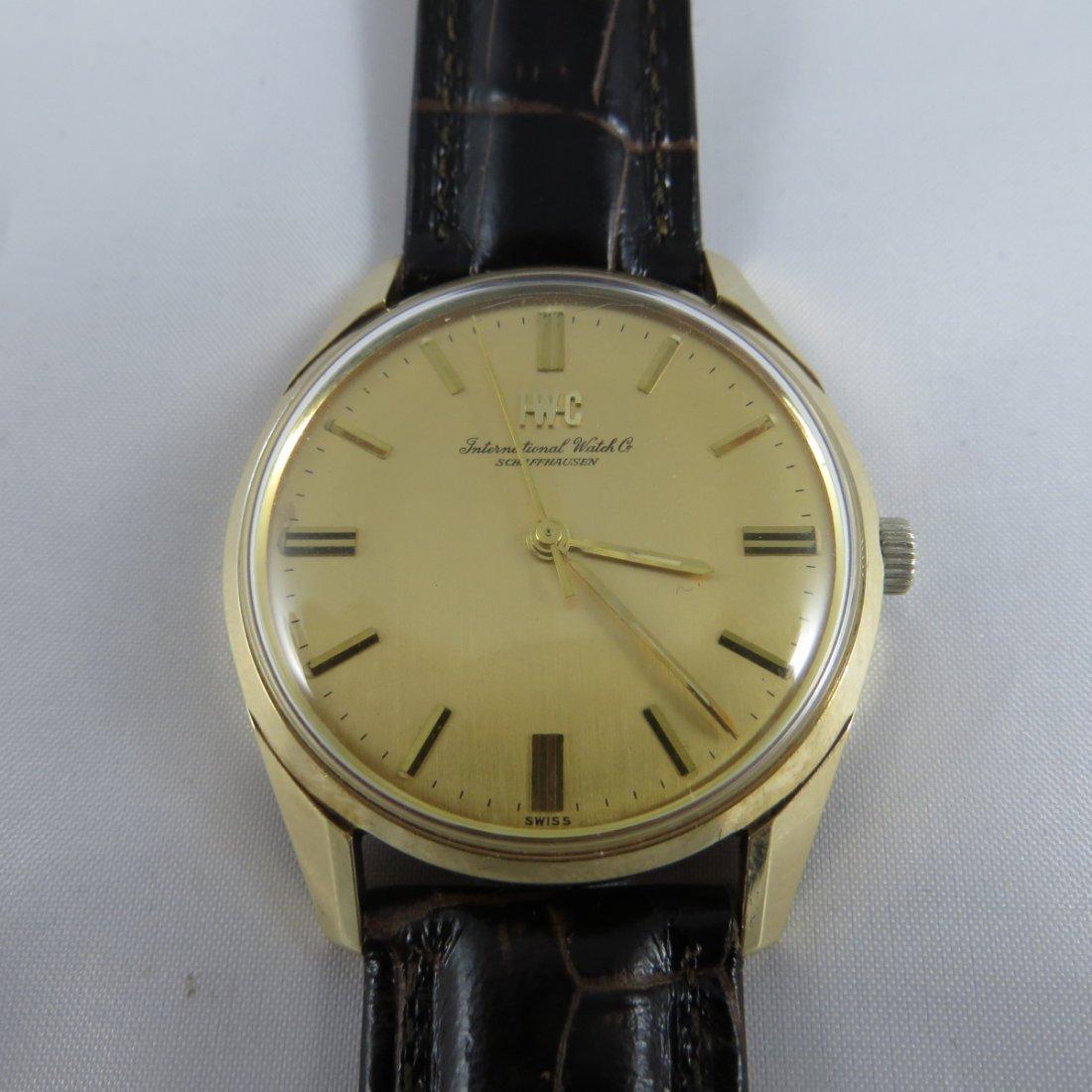 IWC 18K Gold Watch