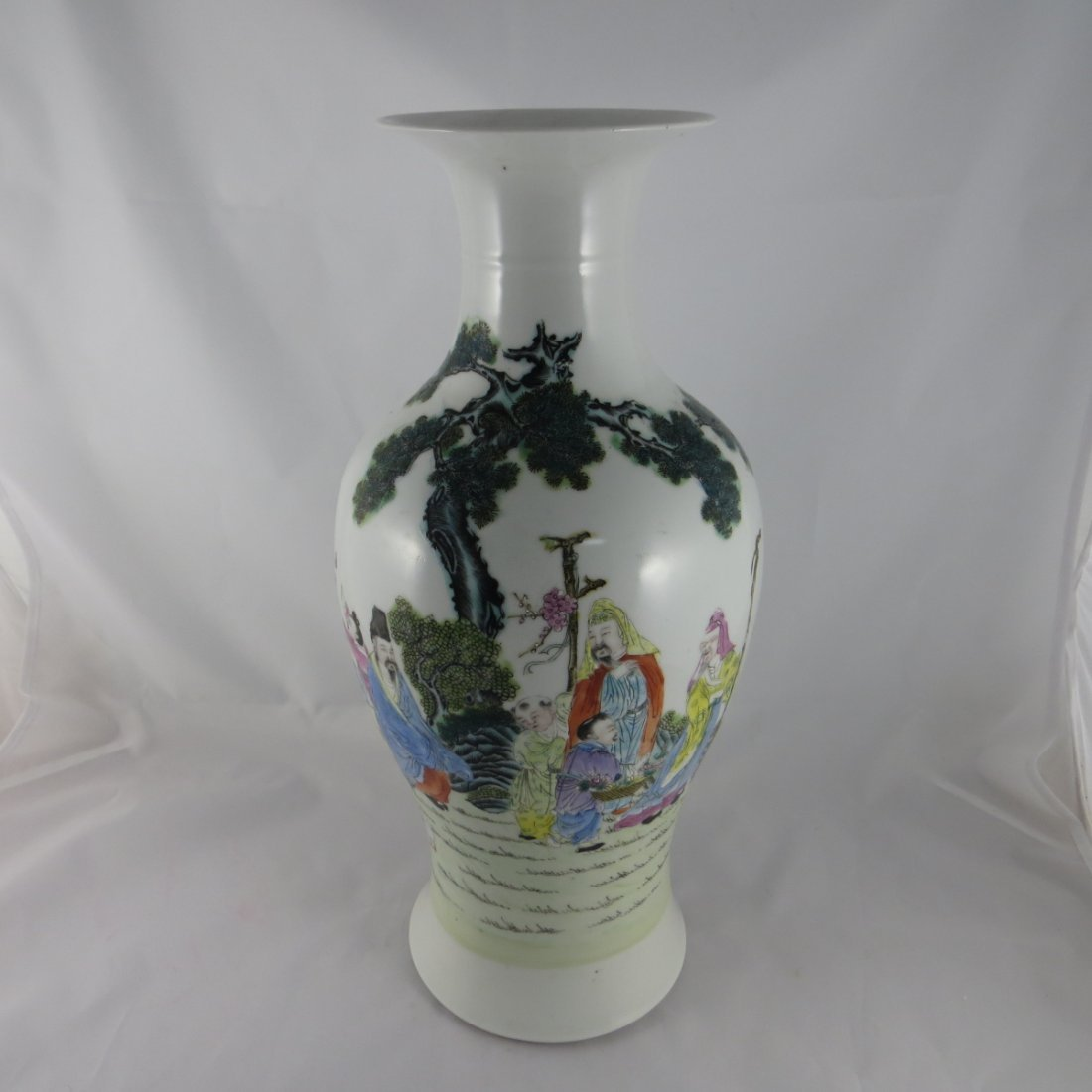 Chinese Famille Rose Vase, Republic Period