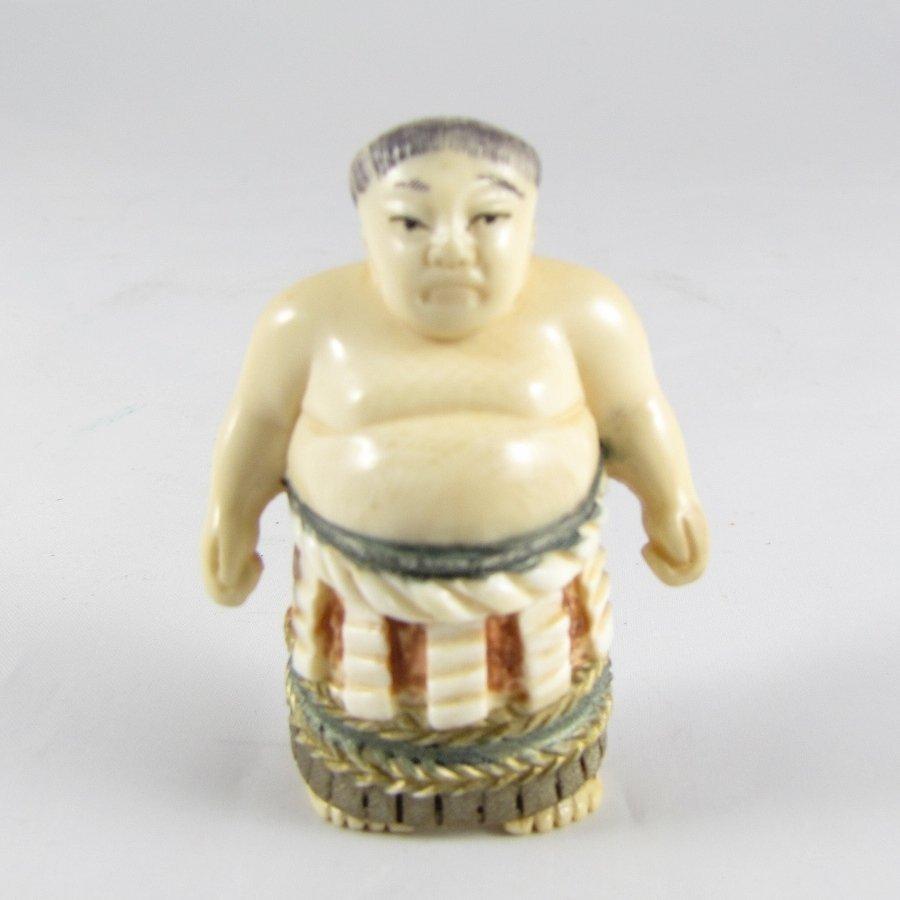 Ivory Statue Of A Buddha