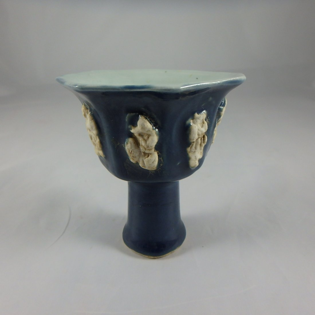 Chinese Ming Dynasty Octagonal Cup