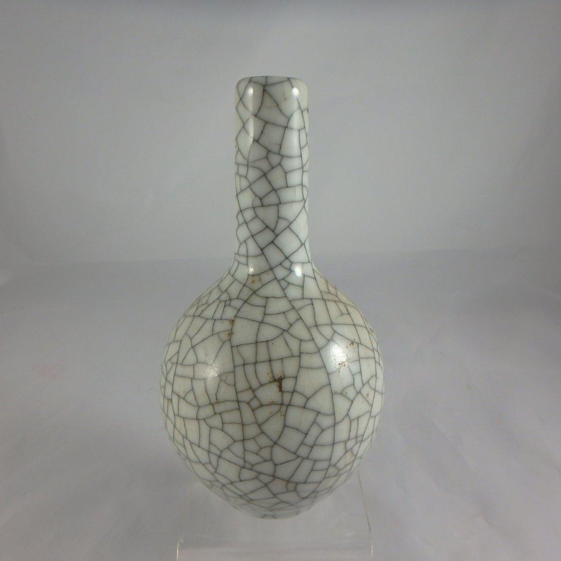 Chinese Qing Dynasty Ge Glaze Vase