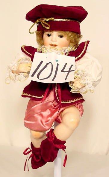 1014: Bisque Head Doll Marked SFBJ Paris NR