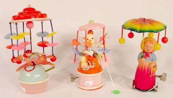 2003: 3 Japan Key wind Celluloid Toys NR