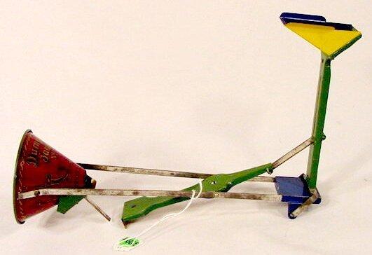 2009: Dumping Sandy No 59 Tin Litho Toy NR