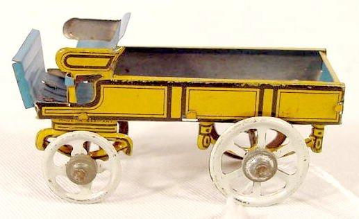 2022: Tiny Tin Litho Buckboard Toy, Germany  NR