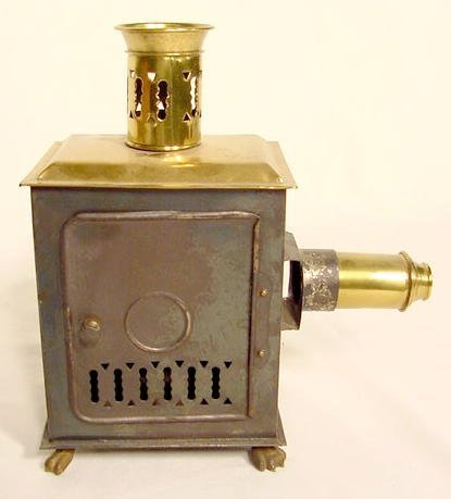 1303: Brass & Tin Magic Lantern NR