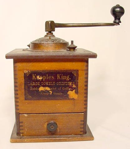 1309: Kepples King Large Double Coffee Grinder NR