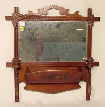 1311: Hanging Comb Case with Mirror NR