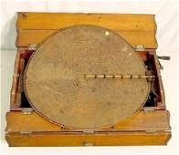 1451: Large Regina Table Top Music Box