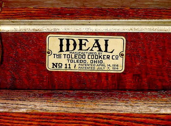 "1469: Oak ""Ideal Cooker"" - 2"