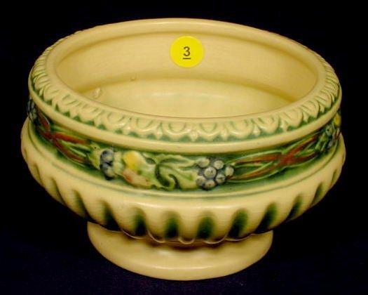"""3: Roseville Pottery """"Corinthian"""" Planter NR"""