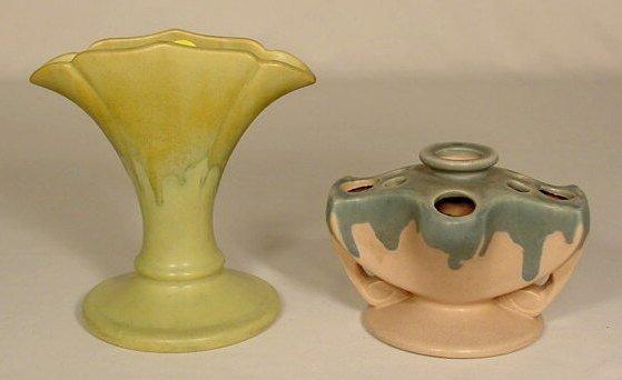 11: Two Roseville Pottery Vases NR