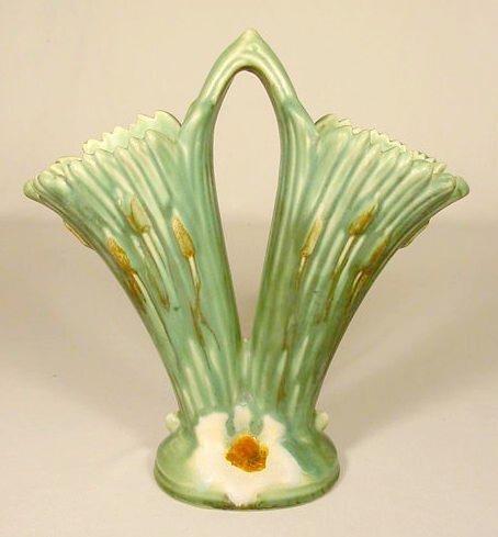 """12: Weller Pottery """"Ardsley"""" Vase NR"""