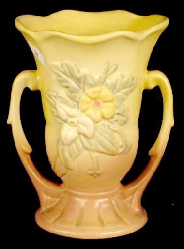 326: 2 Hull Art USA Pottery Items: Vase and Ewer NR - 3