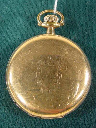 2006: South Bend Pocket Watch Grade 290 15j 16s NR