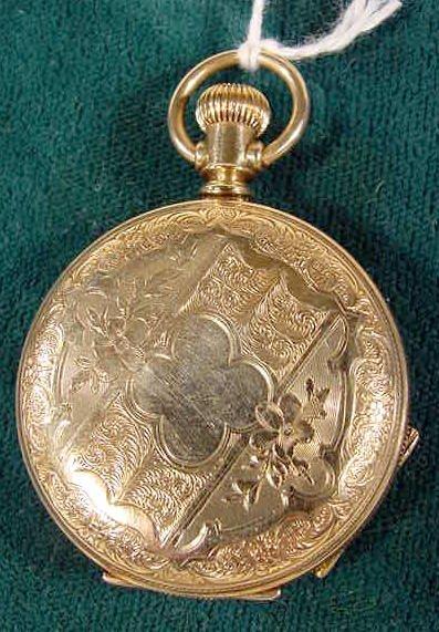 2011: Elgin Ladies Pocket Watch 11j,  6s NR