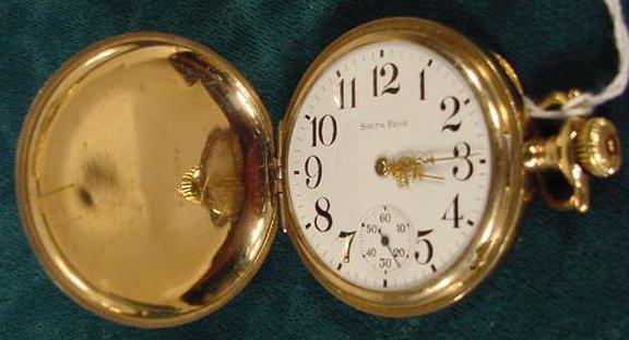 2012: South Bend Pocket Watch Model Grade 290 16s NR