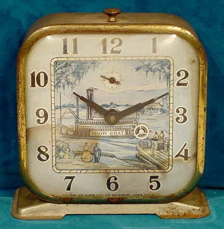 2016: Lux Show Boat Animated Alarm Clock NR