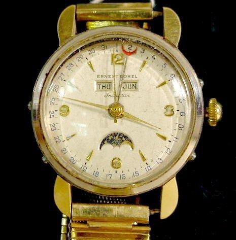 2023: Ernest Borel Incastar Bidynator Wrist Watch NR
