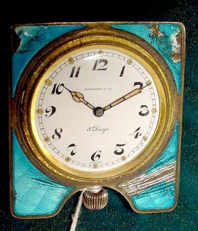 2024: Concord For Tiffany Partial Travel Clock NR
