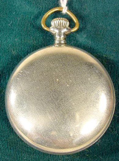 2129: Elgin Indian Motorcycle Adv. Pocket Watch NR - 3