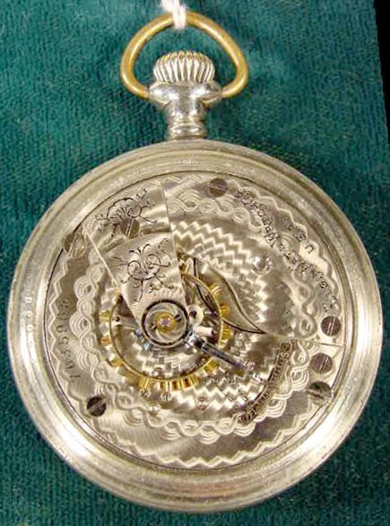2129: Elgin Indian Motorcycle Adv. Pocket Watch NR - 4