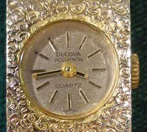 2162: Bulova Ladies Accutron Quartz Wrist Watch N9 NR - 3