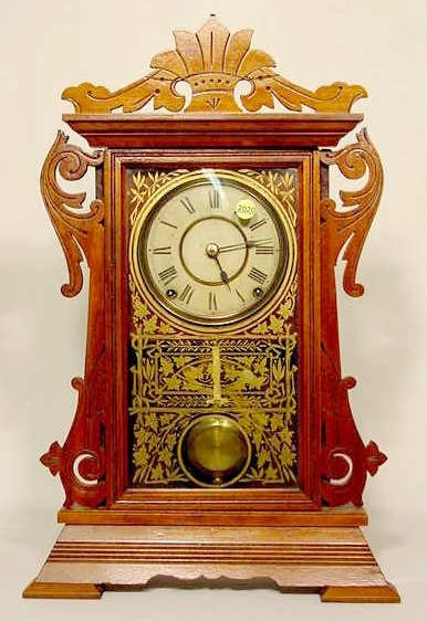 2020: Seth Thomas Walnut Parlor Clock NR