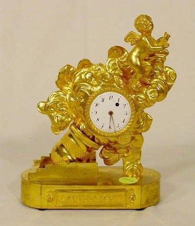 2503: Care La Bombe Figural Desk Clock NR