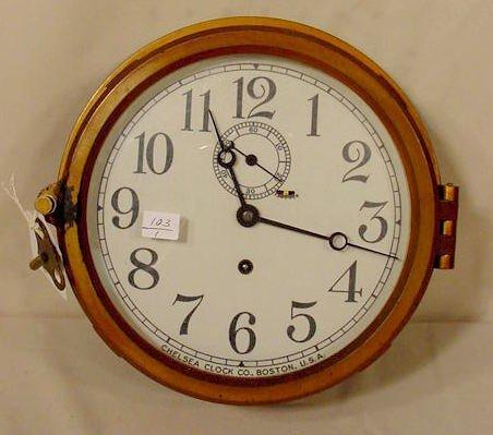 2516: Chelsea Ships Clock NR