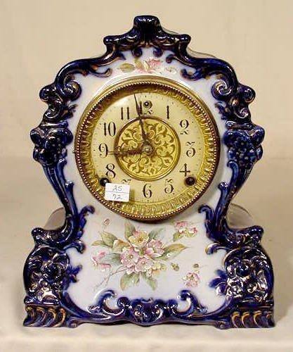2517: Gilbert No. 419 China Case Clock NR