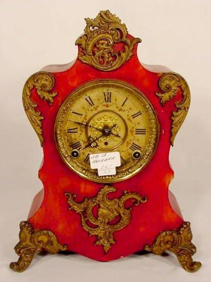 2521A: Kroeber Iron Parlor Clock NR