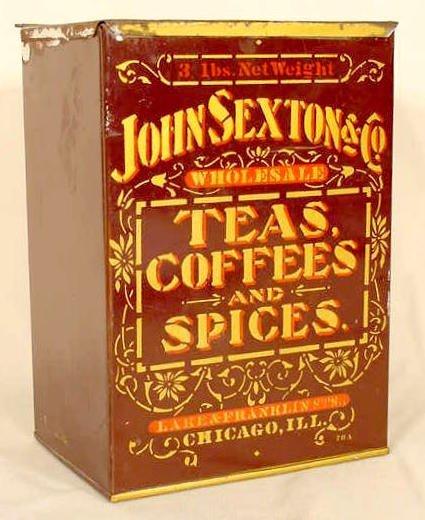 1010: 3 Pound John Sexton & Co. Spice Box NR