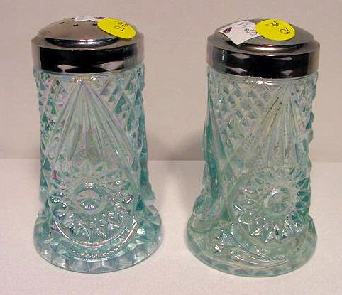 10: Pair Lenox Imperial Glass Muffineers