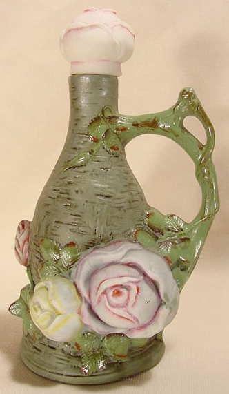 505: German Ceramic Handled Bottle Schafer & Vater