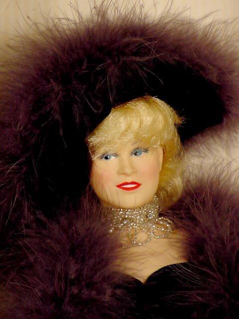 69: 2 Effanbee Mae West WC Fields Dolls NR - 3