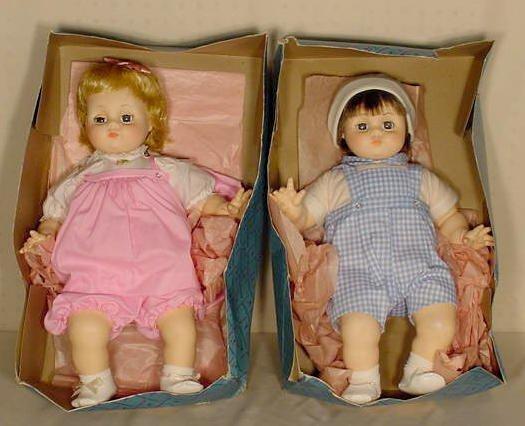 125: Madame Alexander Baby Dolls NR