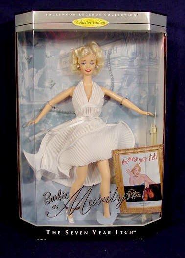 157: 4 Barbie Dolls Marilyn Monroe 'Seven Year Itch' - 2